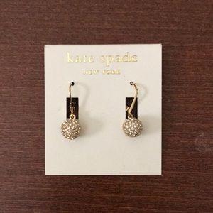Kate Spade Gold Drop Earrings